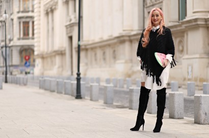 madalina misu, smart shopping, tinute cu buget mic, how to wear chic on a low budget, choies, smart shopping, online shopping, melon clutch, shirt dress, cum purtam rochia camasa