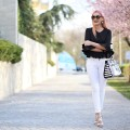 madalina misu, madalina misu fashion blog, blog de moda, ce purtam la birou, tinuta de job, look alb-negru, blog, blogger, ootd, outfit of the day, romwe, amiclubwear, black and white outfit