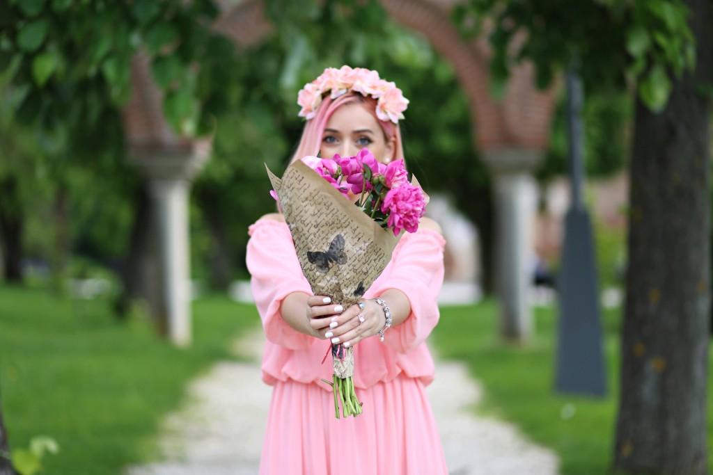 madalina misu, madalina misu fashion blog, blog de moda, pandora, pandora colectie primavara 2016, talismane, charm, momente speciale, flori, precious moments by pandora, pandora romania, bratara cu charmuri, bratara pandora, momente de colectie, mogosoaia, ootd, outfit of the day
