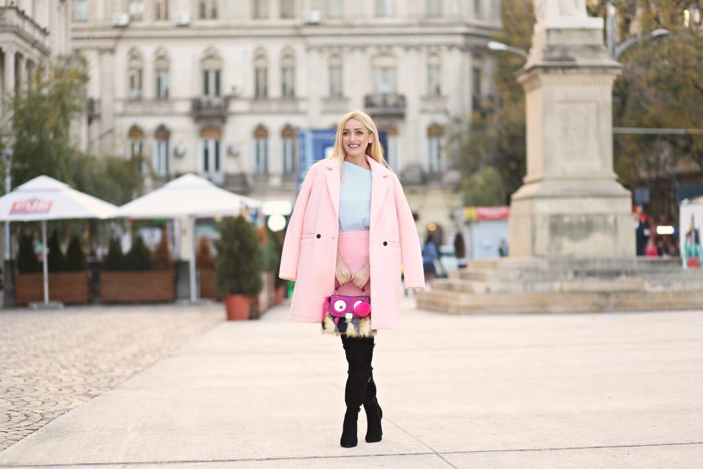 madalina misu, madalina misu fashion blog, blog de moda, top bloguri moda, top fashion bloggers, ootd, outfit of the day, fall outfit, over the knee boots, how to wear pink, how to wear over the knee boots, staying summer, romwe, aldo, amiclubwear, only
