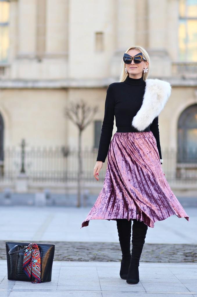 madalina misu, madalina misu fashion blog, blog de moda, fashion blog, top bloguri moda, top fashion bloggers, romanian fashion bloggers, velvet skirt, cum purtam catifeaua, iarna 2017 catifea, cum purtam fusta din catifea, outfit of the day, ootd, cum purtam catifeaua
